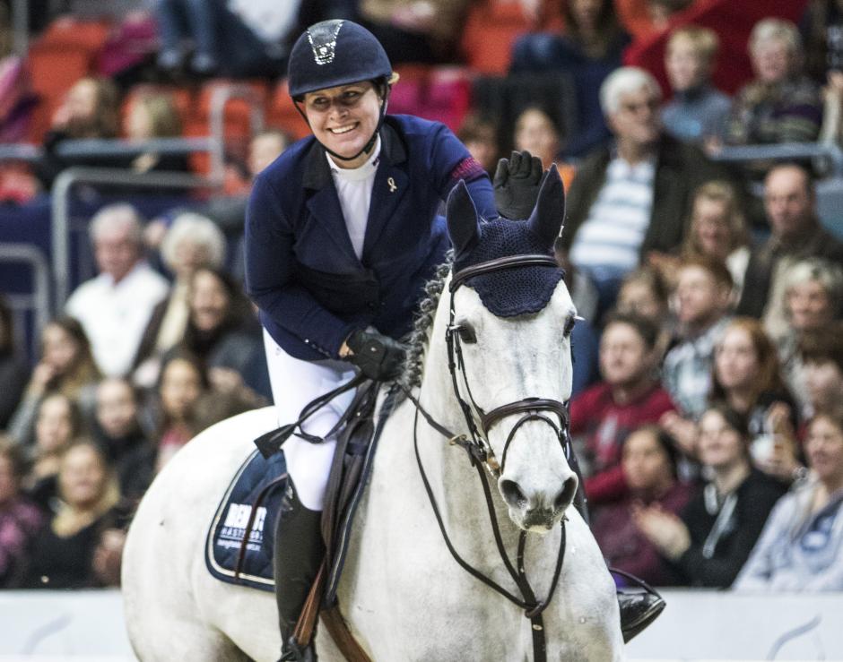 Tillsammans igen: Unghäststjärnan tillbaka hos Sandra Carlsson