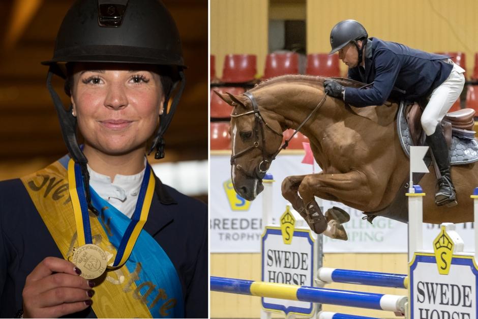 Svenska young rider-mästaren tar över Cayenne de Clarence efter Jens Fredricson