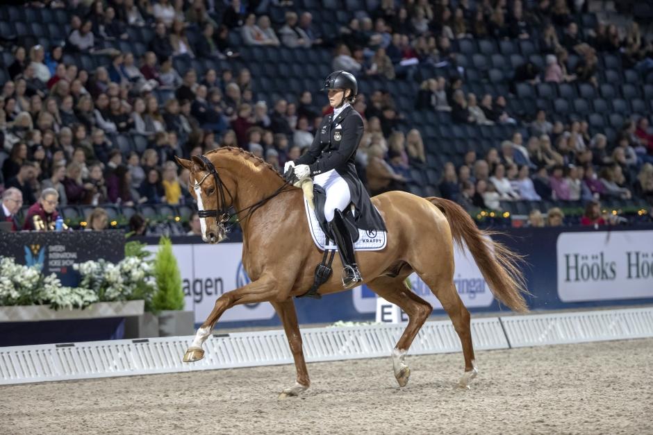 De får rida U25-dressyren på Stockholm Horse Week