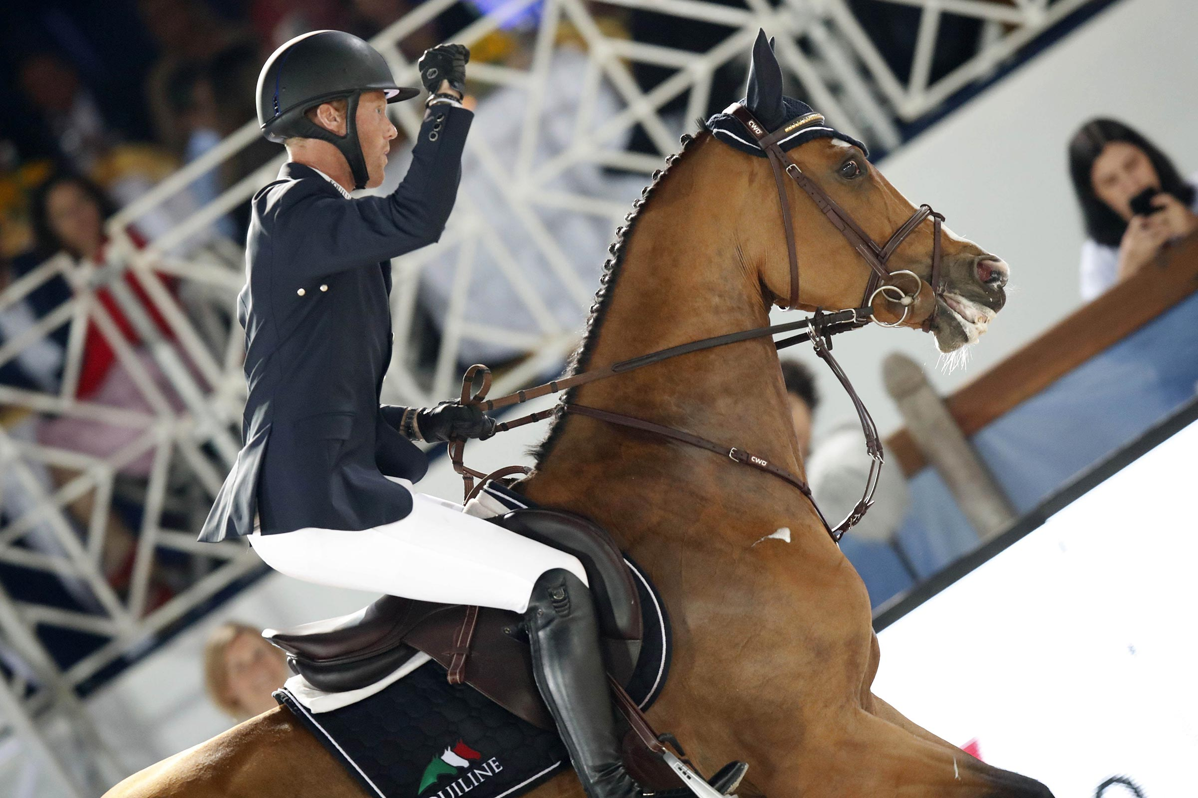 Niels Bruynseels on Gancia de Muze ph.Stefano Grasso/LGCT NIELS BRUYNSEELS GANCIA DE MUZE CLASS 15 CANNES 2019 CSI5* 1,60M - LONGINES GRAND PRIX CANNES 2019 DOWNLOAD