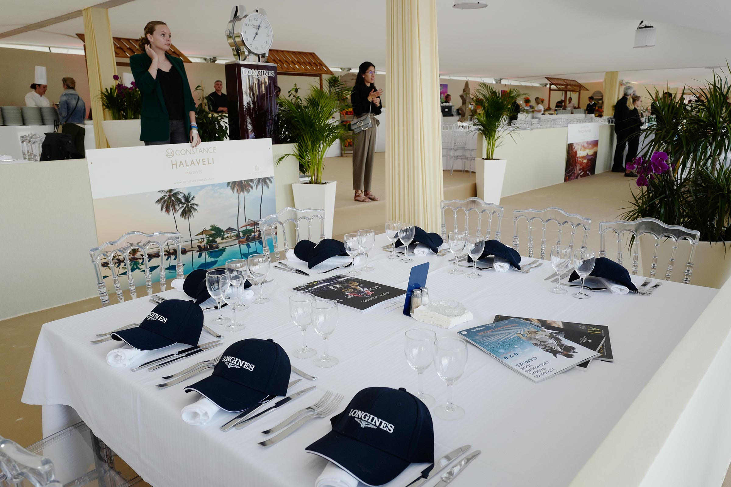 The Longines hospitality ph.Stefano Grasso/LGCT CANNES 2019 DOWNLOAD