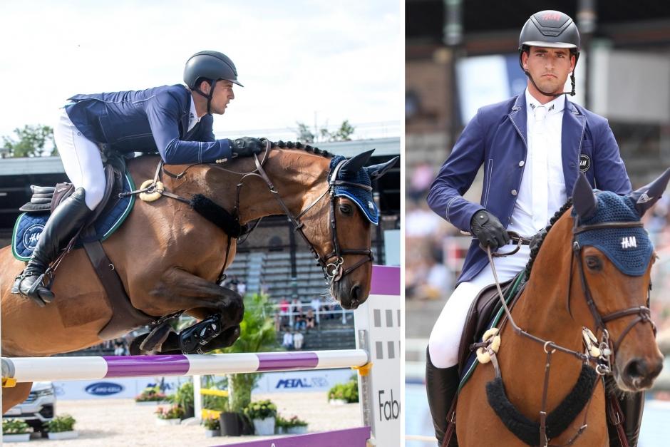Nicola Philippaerts har framtidstro för sin nya SWB-häst