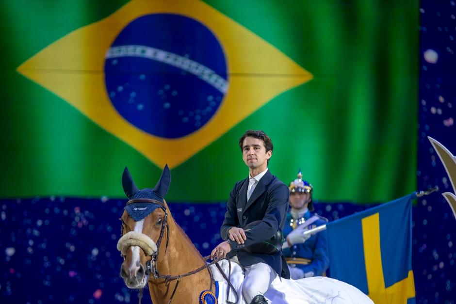 Brasilianska laget ostoppbara i Geesteren