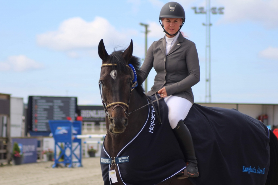 """Cornelia Rylén: """"Alla hästarna kvalade till final"""""""