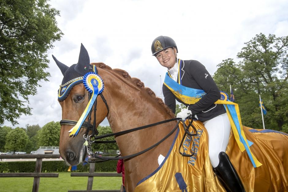 Felicia Olofsson försvarade sitt JSM-guld