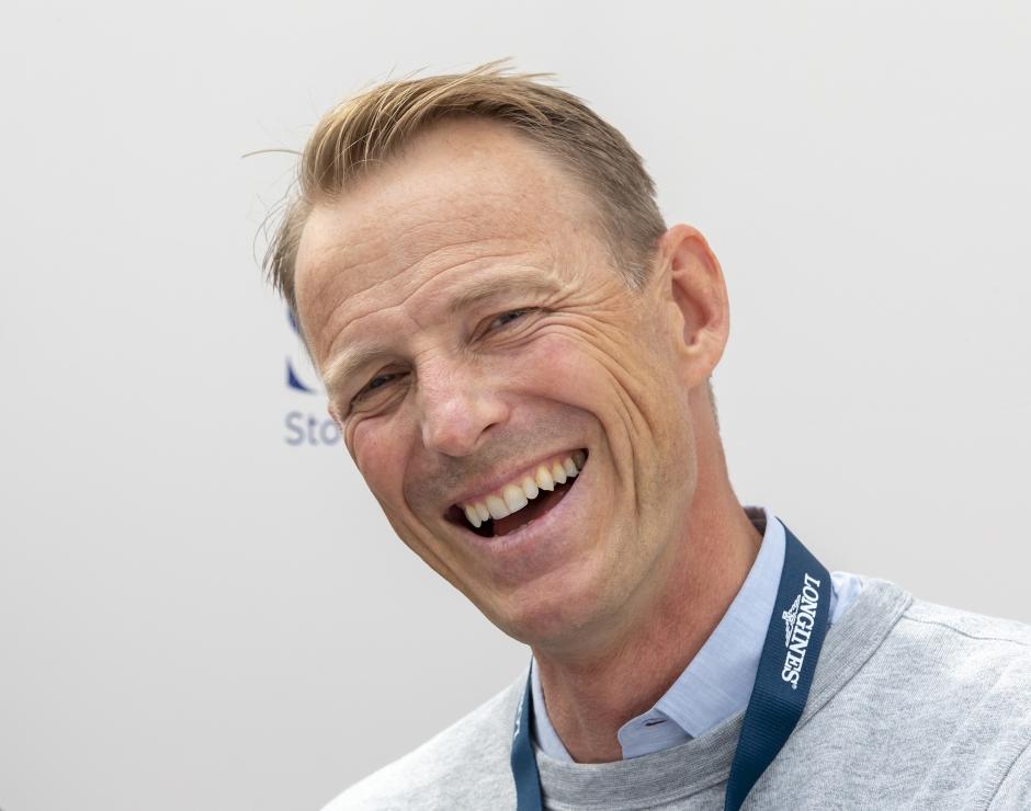 Peder har valt hästar inför LGCT i Stockholm