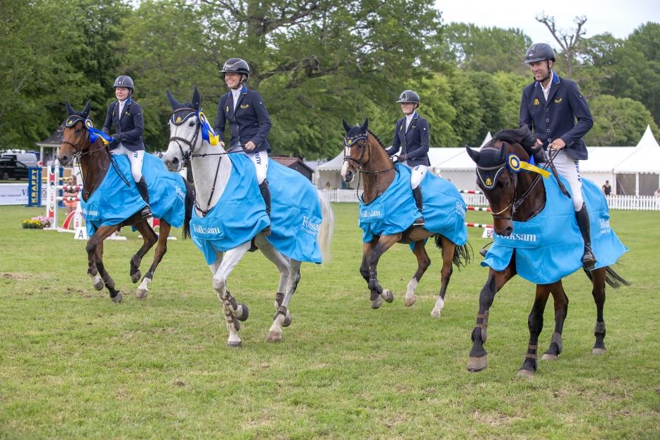 De går vidare till SM-finalen i Falsterbo