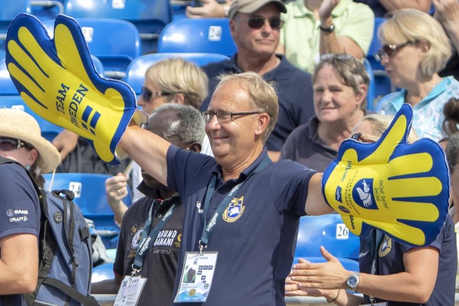 Sverige på väg mot lagfinal