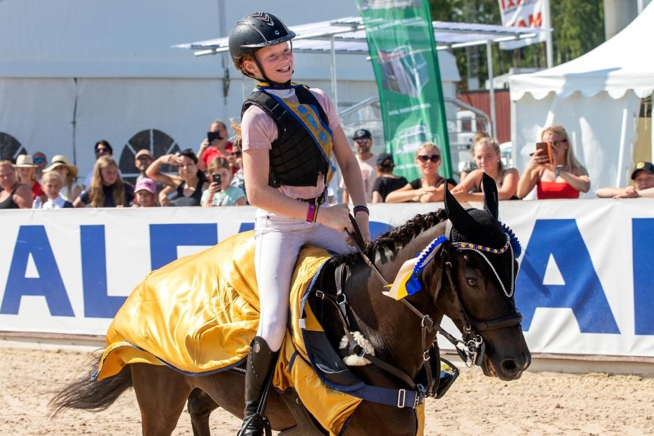 Rutinerade B-ponnyer tog hand om SM-medaljerna
