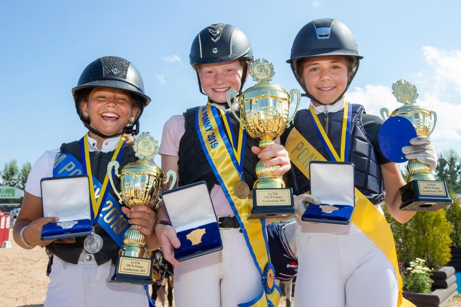 Dags för ponny-SM – där children är största gruppen