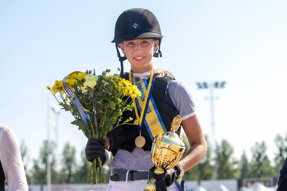 Filippa Enmark tog SM-guldet bland juniorerna