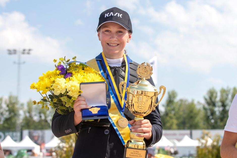 Signe samlar på SM-guld – vinnare i tre kategorier
