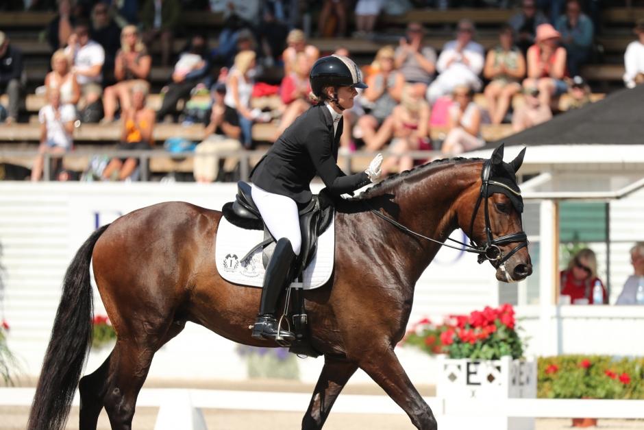 Danska Anna hoppas på sina svenska hästar