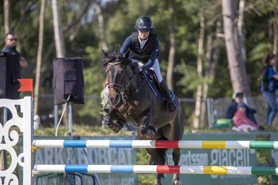 Thea Gånehed bästa svensk i ponnykvalet