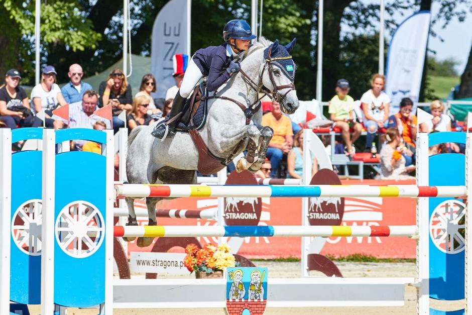Svensk ponnyseger i Stuttgart