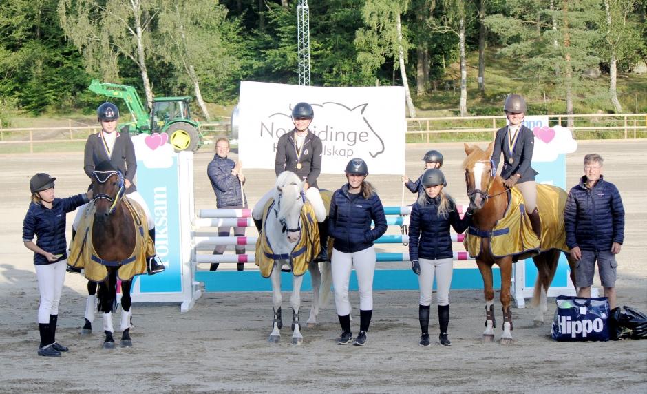 Starkt ponnylag tog guld i lag-SM