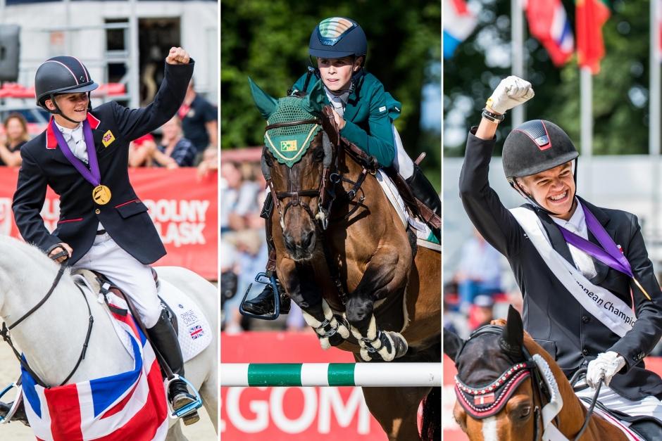 Bildbomb: Medaljörerna från ponny-EM