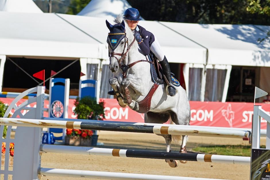 Ebba Danielsson tog poäng i Lyon
