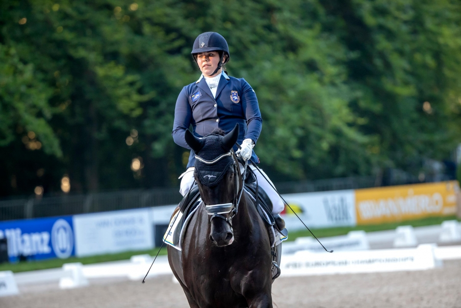 Felicia Grimmenhag pensionerar sin OS-häst