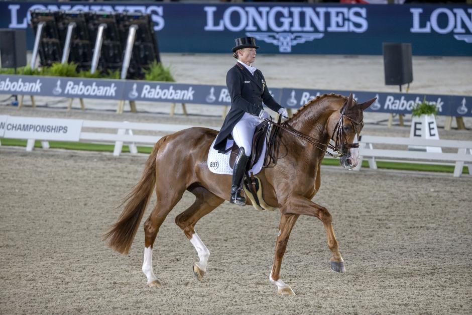 Isabell Werth OS-aktuell med fyra hästar