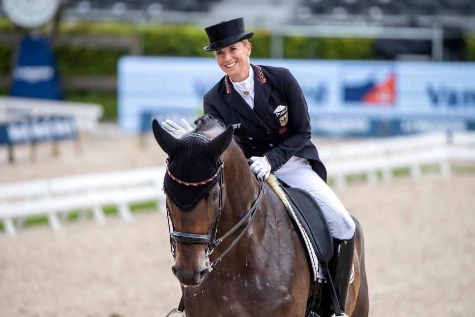 Jessica von Bredow slår sig in på rankningens andraplats