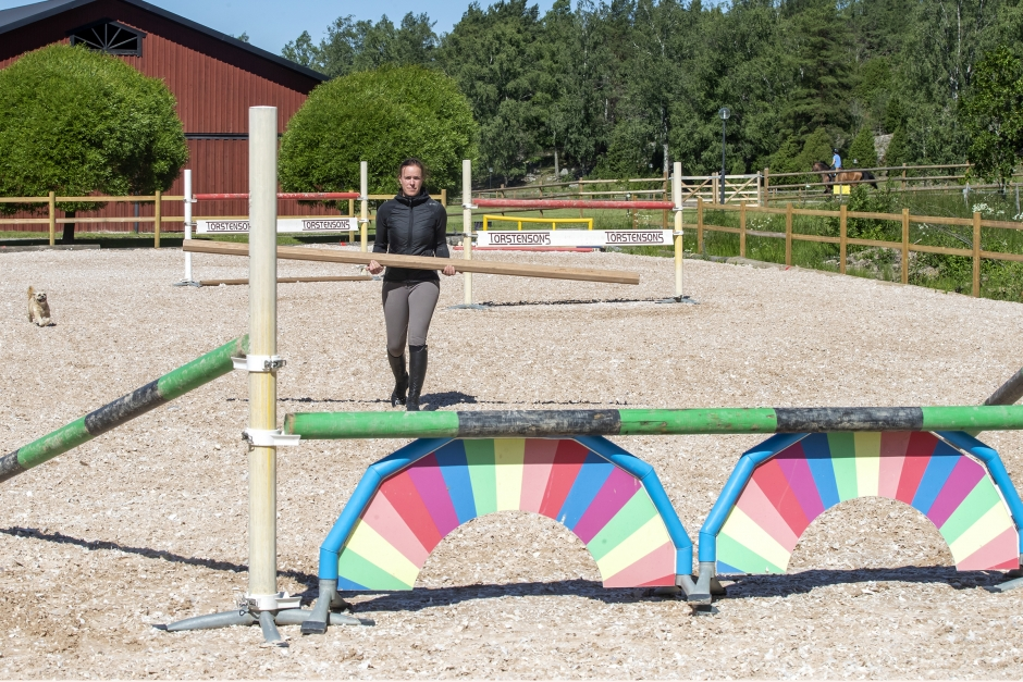 Jägerdéns problemlösning: Så tränar du den tittiga hästen