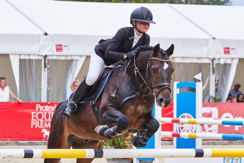 "Wilma Nyhlén efter EM-debuten: ""Min ponny har varit superfin"""