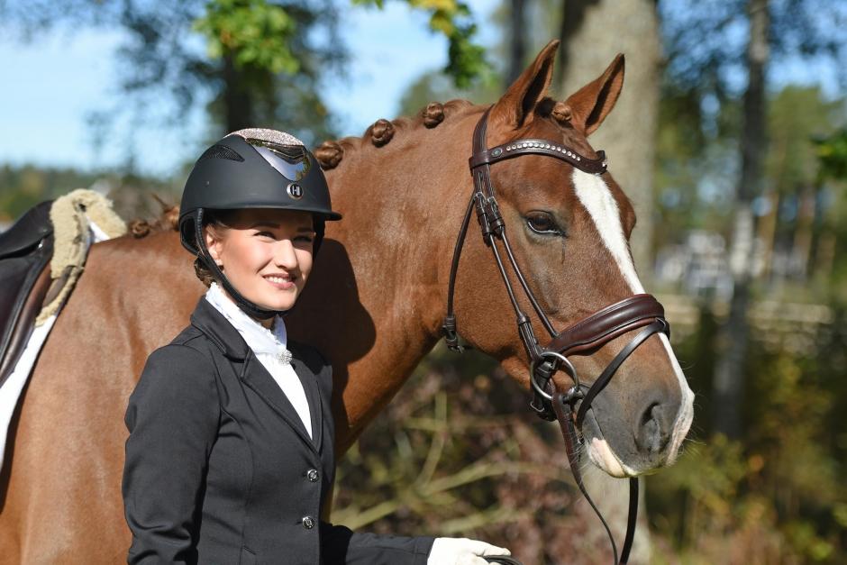 """Mai Stensson: """"Det är lättare att utbilda den unga hästen rätt än att lära om en äldre häst"""""""