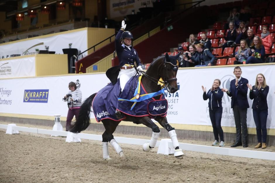 Jeanna Högberg visade storform på Flyinge