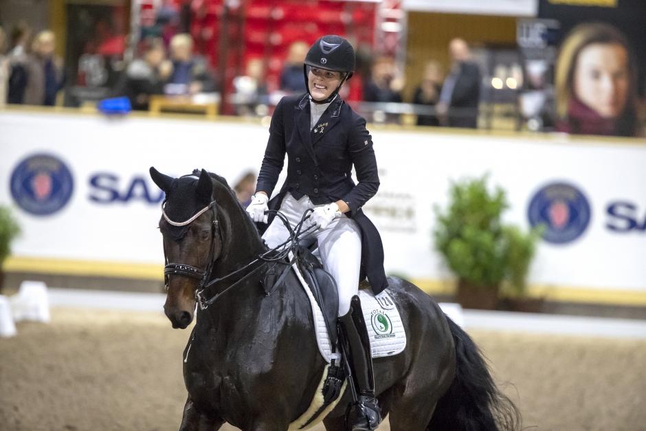 """Sandra Dahlin efter segern i GPS-debuten: """"Har inte fattat det"""""""