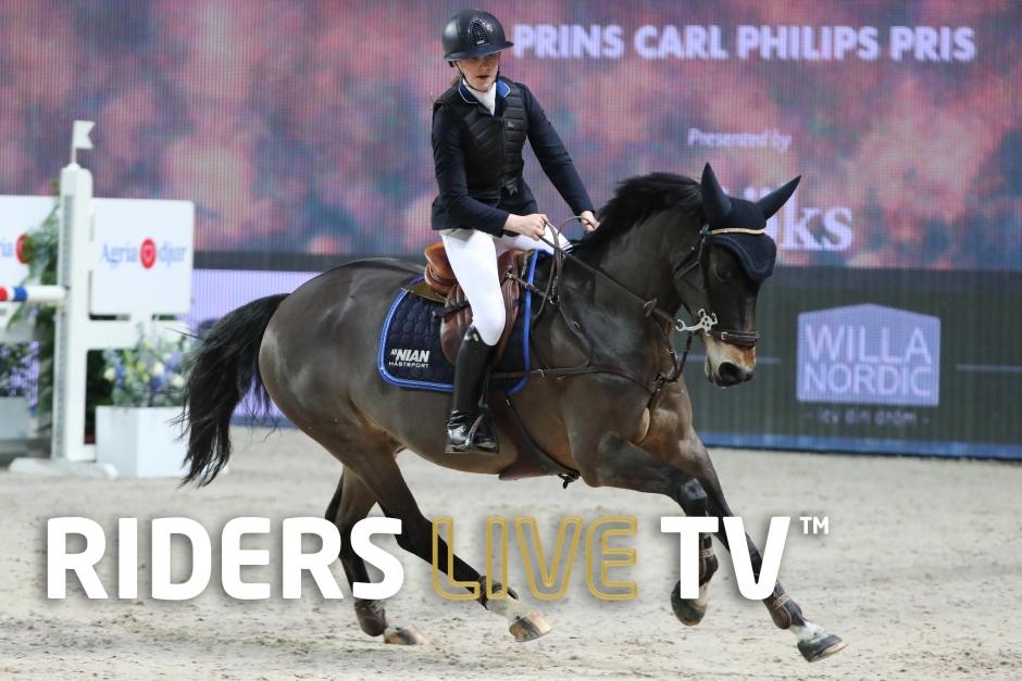 Live TV: Följ första rundan i Prins Carl Philips pris
