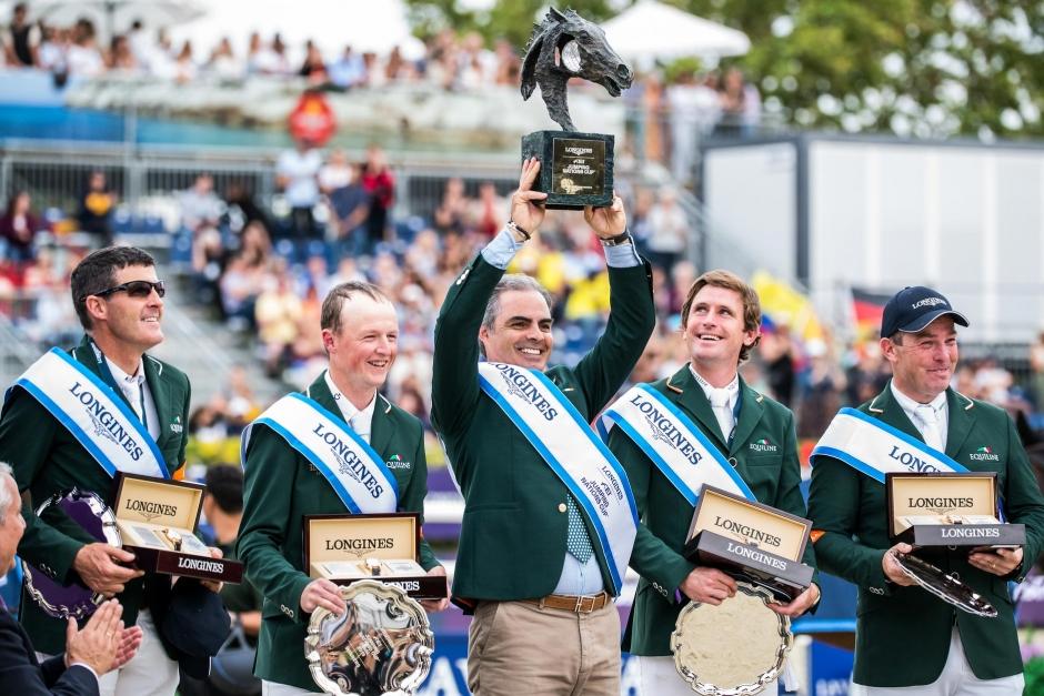 OS-kval och finalsegern till Irland