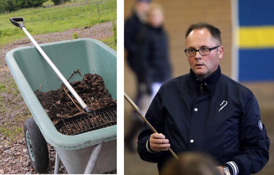 Hästgödsel stal fokus från tävling i Gävle