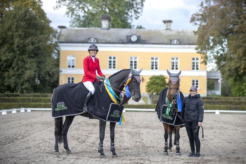 Dubbelseger för Sofia Farman i 6-åringarnas final
