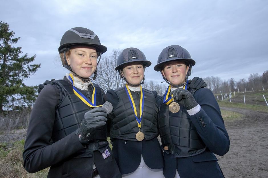 SM-guld till Signe Svensson och D-ponnyn Bright Eyes