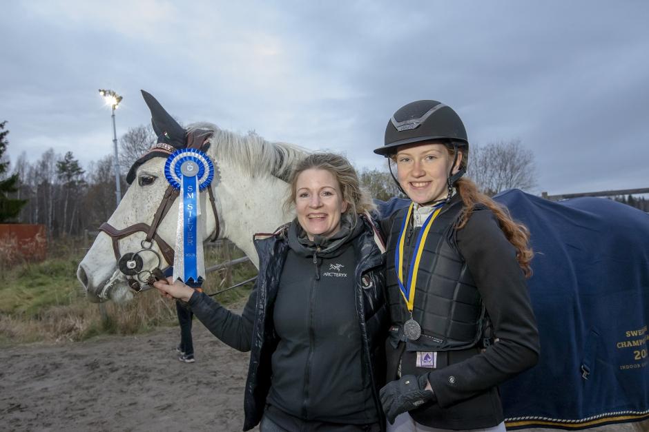 """Tog silver i ponny-SM: """"Jag hatade hästar"""""""