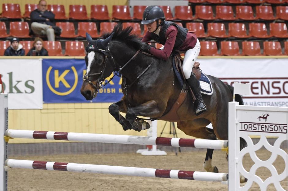 Kajsa Björe vann igen – på annan häst