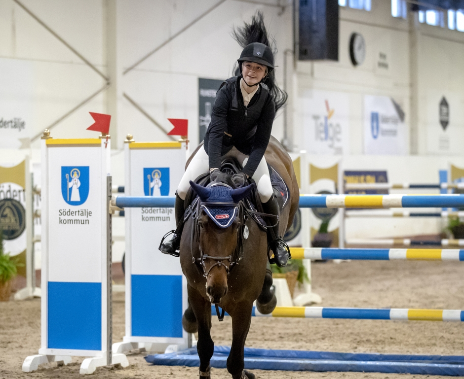 Junioren Cora snodde guldet i Young rider-SM