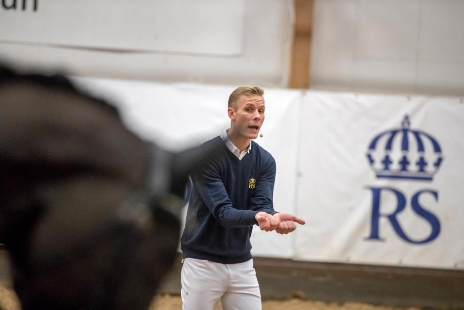 """Daniel Bachmann Andersen: """"Lär dig läsa hästen och känna hur den reagerar"""""""