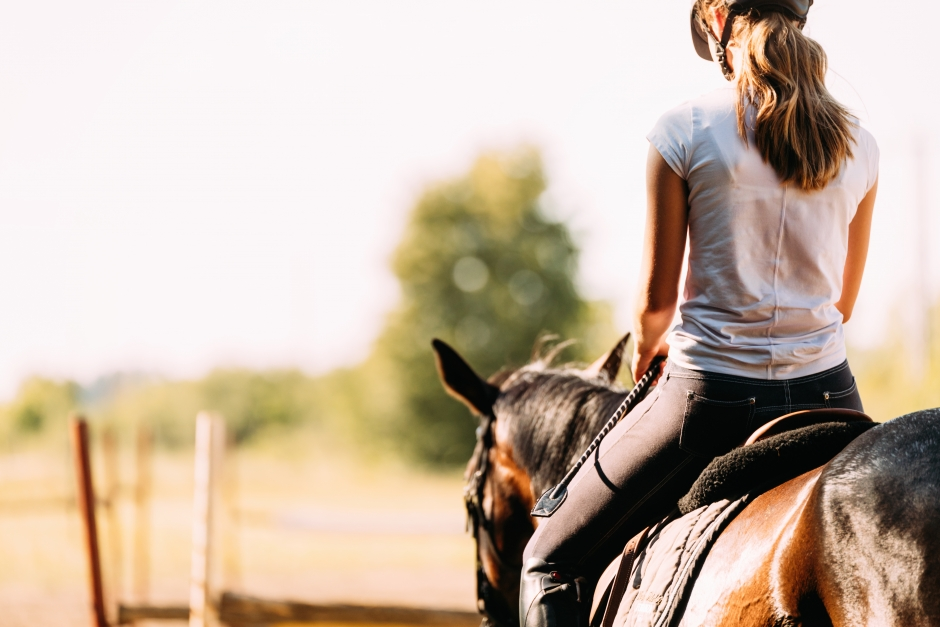 Körde på häst med ryttare – döms till dagsböter