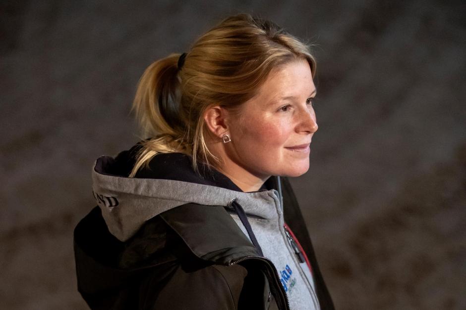 Stephanie Holmén söker tävlingsgroom