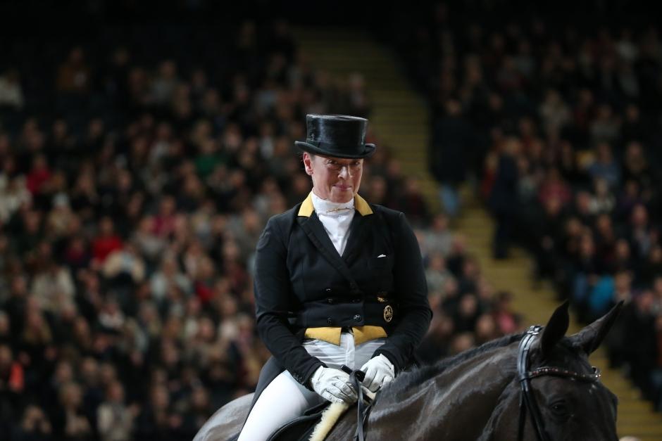 Isabell Werth segrade i GPS med ny häst