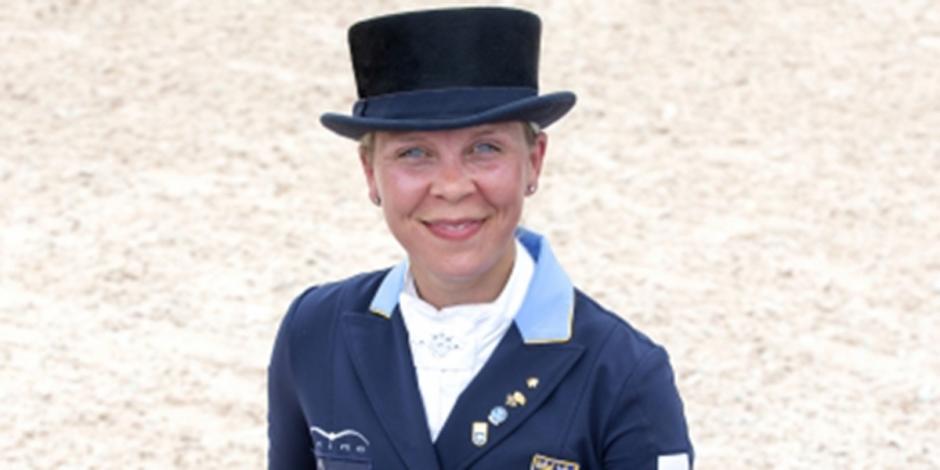 Therese Nilshagen på pallen i Grand Prix Special