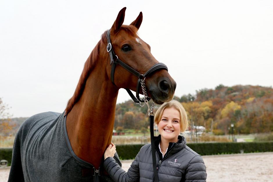 """Emma Jönsson: """"Utvecklingen av hästen driver mig"""""""