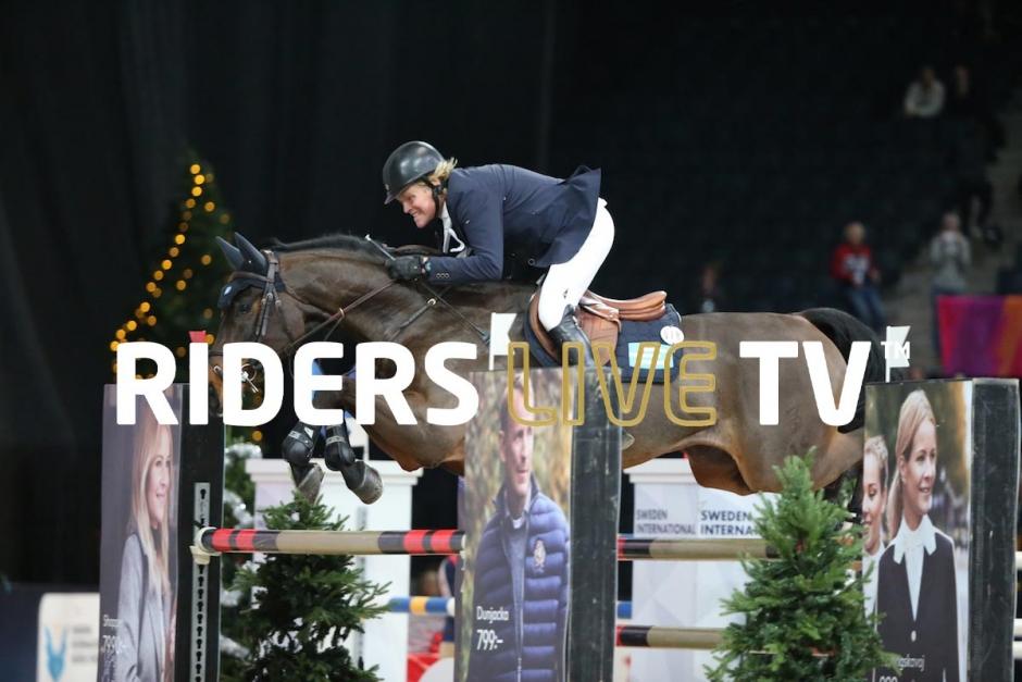 Live tv: Följ Fredrik Jönsson och Cold Play i Olympia Horse Show