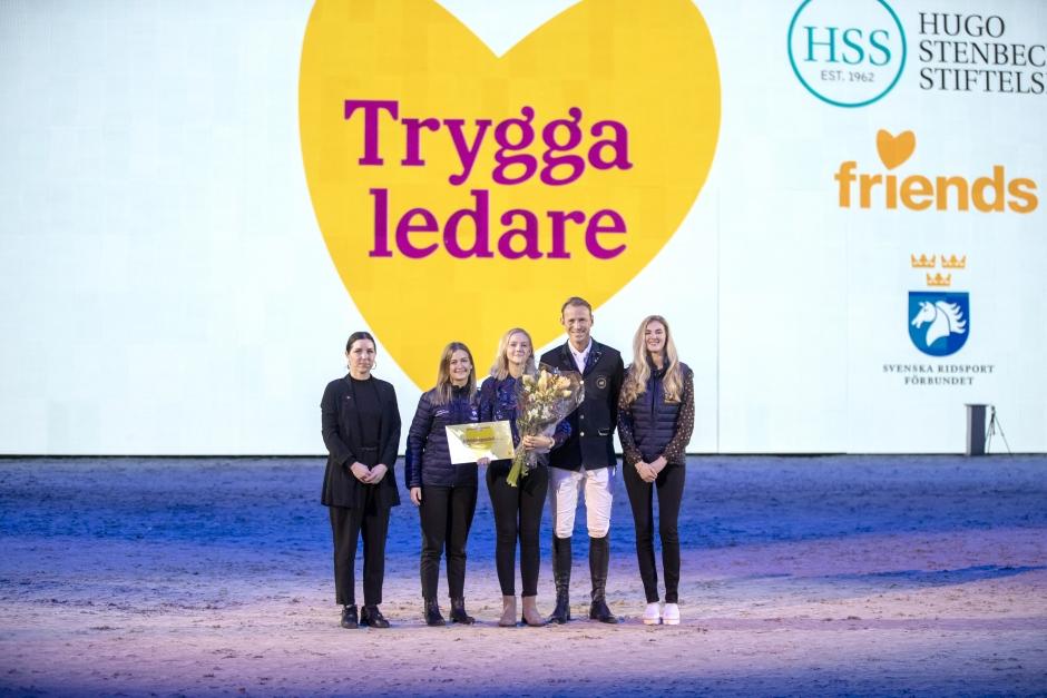 Ridsportens Trygghetspris till Elin Fernqvist