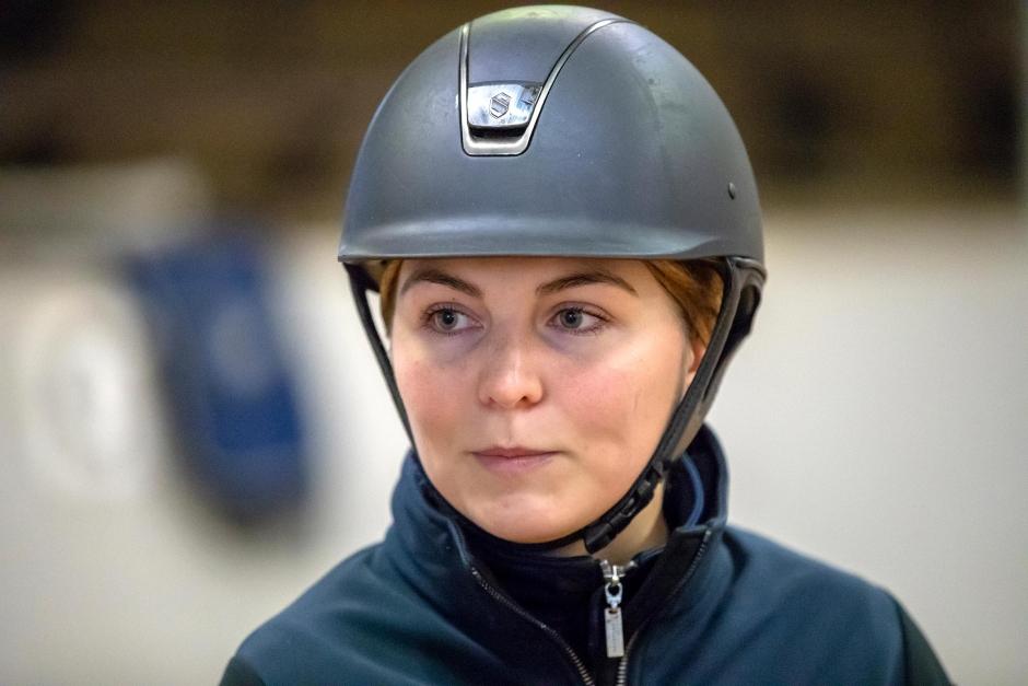 Sissela Smith är svensk mästare i hoppning