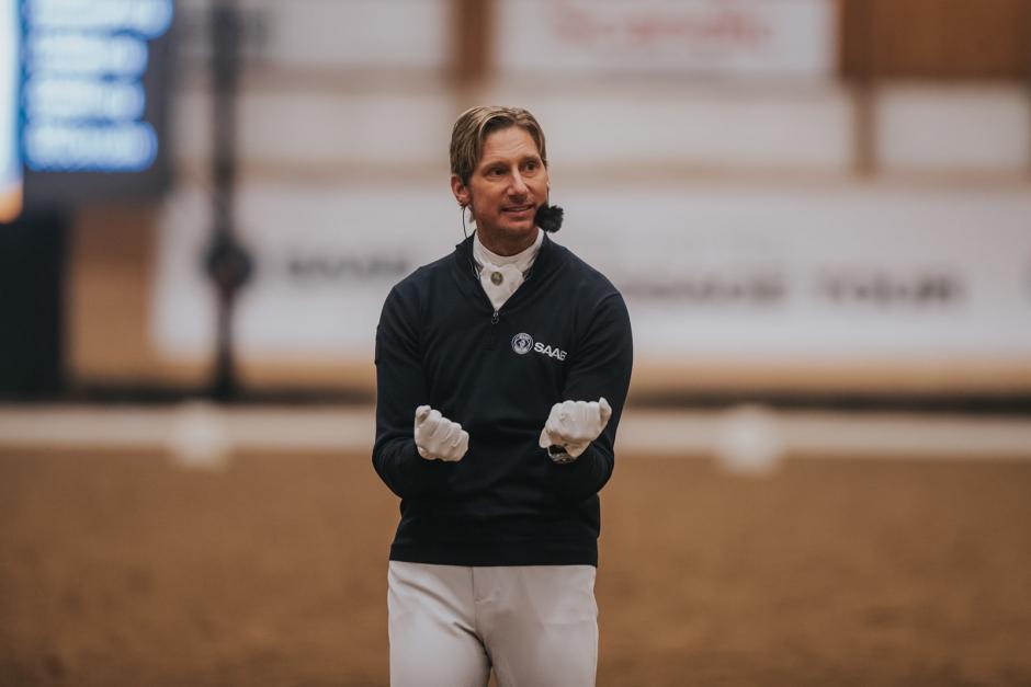 """Patrik Kittel: """"Hästen måste vara avspänd, annars går det inte att rida felfritt"""""""