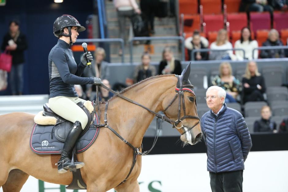 """Clinic med Christoph Hess """"Den unga hästen ska få självförtroende"""""""