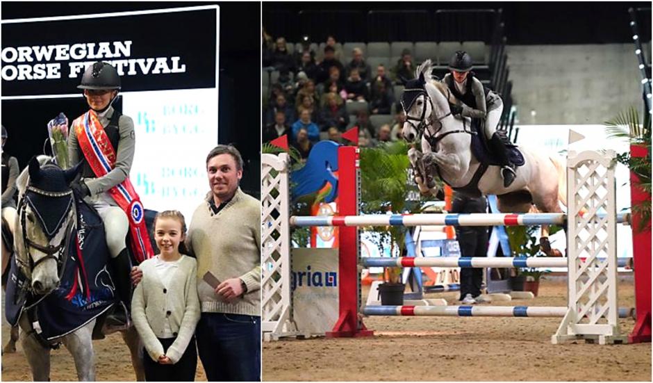 13-åriga Ebba Danielsson dominerade i Norge